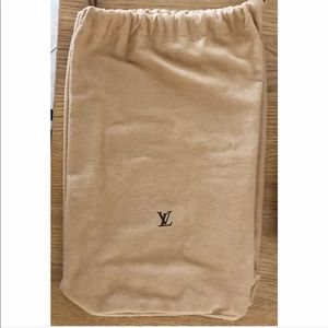 💯Authentic Louis Vuitton Large Drawstring Dustbag